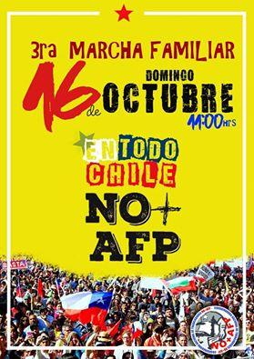 Sinacin convoca a nueva marcha NO + AFP