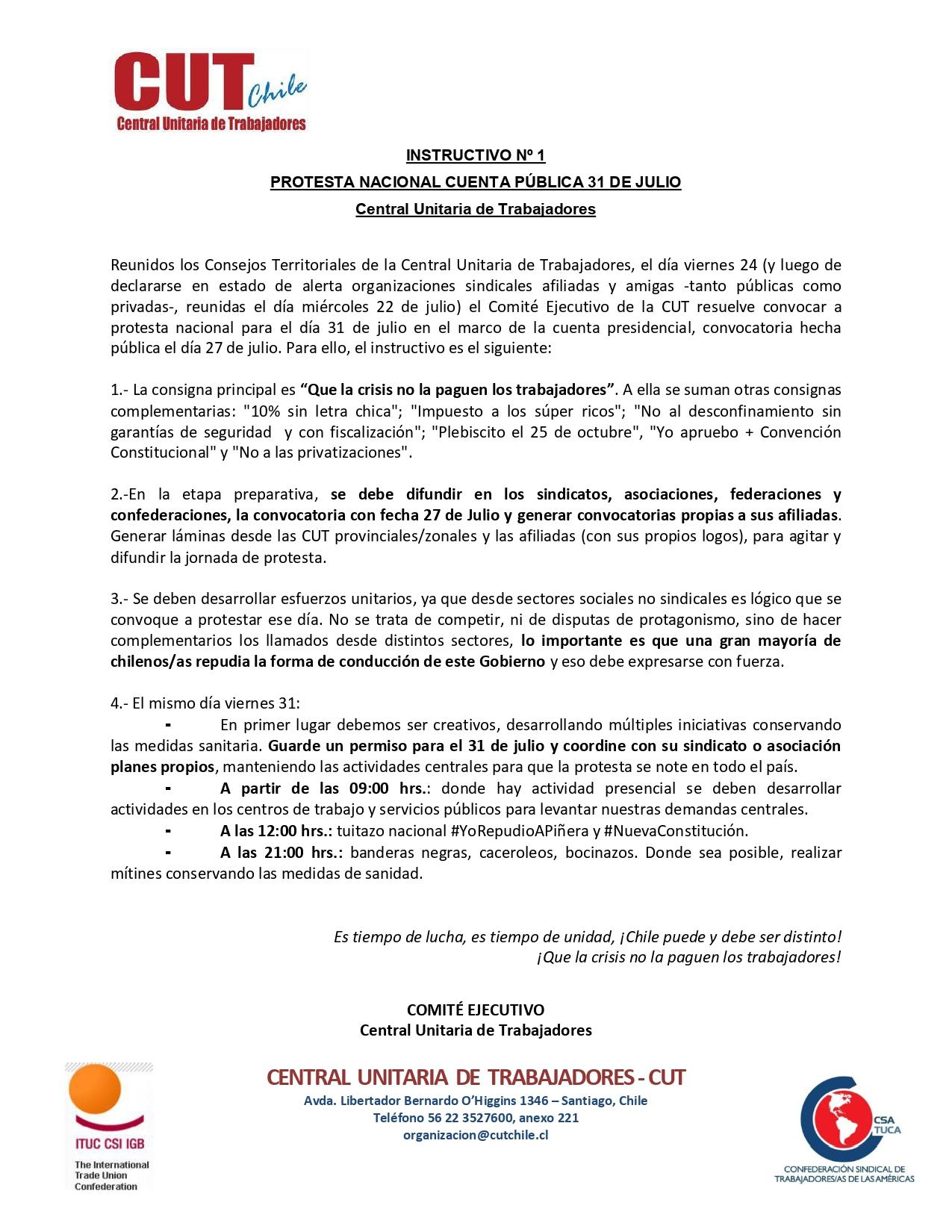 Instructivo Nº 1 Protesta Nacional 31 de Julio_page-0001
